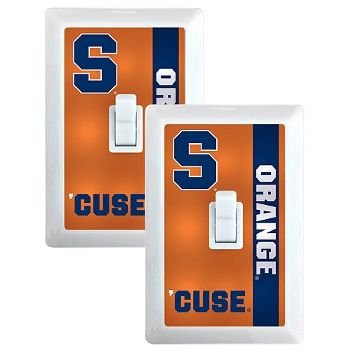 Syracuse Orange 2-Pack Nightlight Light Switch