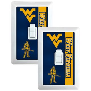 West Virginia Mountaineers 2-Pack Nightlight Light Switch