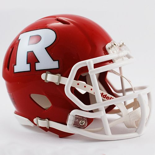 Riddell Rutgers Scarlet Knights Speed Mini Replica Helmet