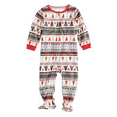 4d81fa1768 Baby Infant Jammies For Your Families Polar Bear Fairisle Family Pajamas One -Piece Footed