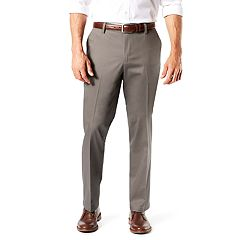 Men's Dockers® Signature Khaki Lux Straight-Fit Stretch Pants D2