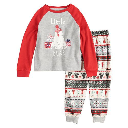 8712c82ca Toddler Jammies For Your Families Polar Bear Fairisle Family Pajamas ...