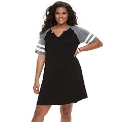 Juniors' Plus Size SO® Sporty Short Sleeve Dress