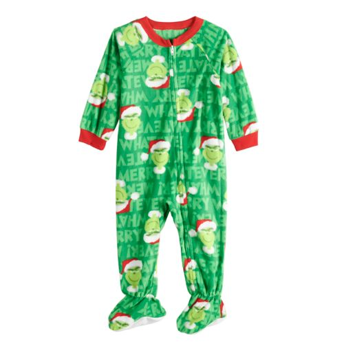 Baby Infant Jammies For Your Families How The Grinch Stole Christmas