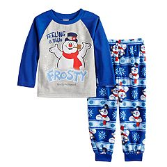 Toddler Jammies For Your Families Frosty the Snowman 'Feeling a Little Frosty' Top & Microfleece Bottoms Pajama Set