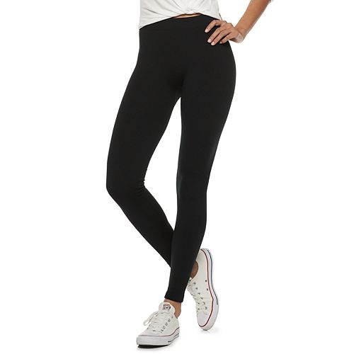 Juniors' Pink Republic Fleece-Lined Leggings