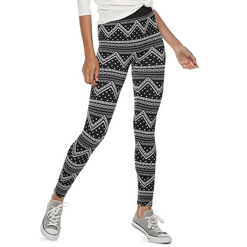 294209e044c64 Juniors' Pink Republic Fleece-Lined Leggings