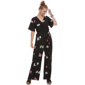 Juniors' Candie's® Floral Jumpsuit