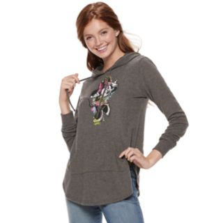 Disney's Minnie Mouse Juniors' Sketch Graphic Tunic Hoodie