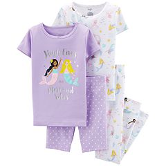 Girls 4-14 Carter's Tops, Shorts & Pants Pajama Set