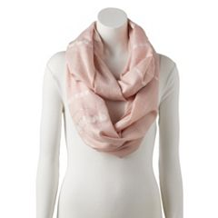 Women's Apt. 9® Shine Arrow Infinity Scarf