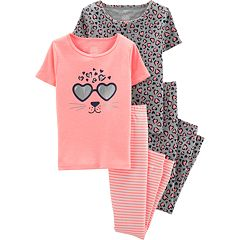 b14d68117 Girls Carter s Cotton Kids Sleepwear