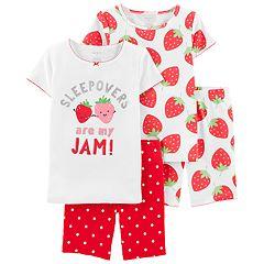 a50e1df827bc Girls 4-14 Carter's Tops & Shorts Pajama Set