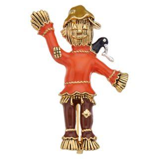 Napier Gold Tone Scarecrow Pin