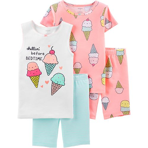 Girls 4-14 Carter's Tops & Shorts Pajama Set