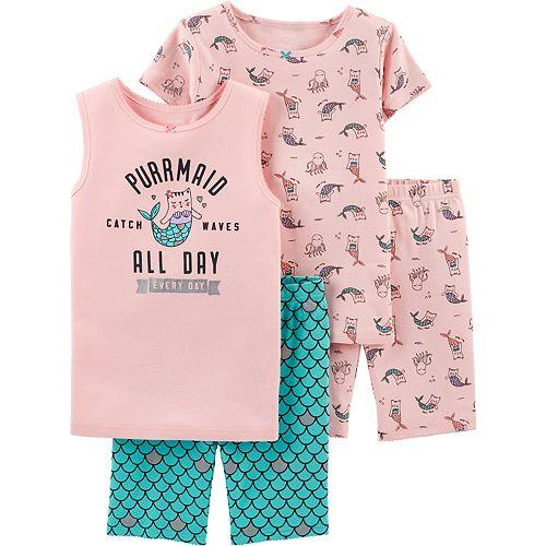 Girls 4-14 Carter's Tops & Shorts Pajama Set