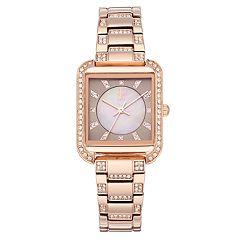 Jennifer Lopez Women's Evie Crystal Watch