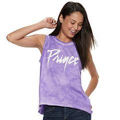 Juniors' Prince Tie-Dye Tank
