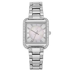 Jennifer Lopez Women's Evie Crystal Watch