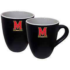 Maryland Terrapins Two-Tone Coffee Mug Set
