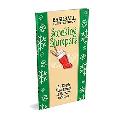 Stocking Stumpers Baseball Book by Red-Letter Press