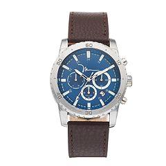 Marc Anthony Men's Sawyer Leather Watch - FMDMA194