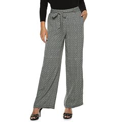 Women's Jennifer Lopez Menswear Wide-Leg Pants
