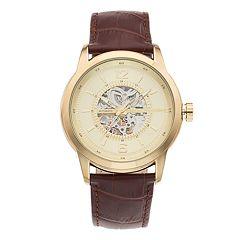 Marc Anthony Men's Baldwyn Leather Automatic Watch - FMDMA540