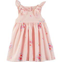 Baby Girl OshKosh B'gosh® Bow Babydoll Dress