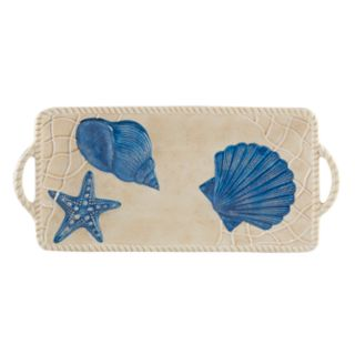 Certified International Seaside Rectangular Serving Tray