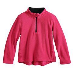 Toddler Girl Jumping Beans® 1/2 Zip Fleece Pullover