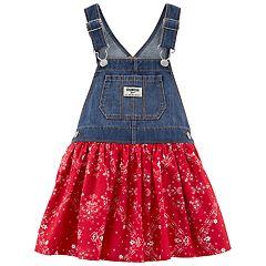 Baby Girl OshKosh B'gosh® Bandana Denim Jumper