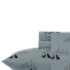 Eddie Bauer Printed Flannel Twin XL Sheet Set