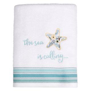 Saturday Knight, Ltd. Seaside Blossoms Bath Towel