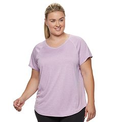 Plus Size Tek Gear® Base-Layer V-Neck Tee