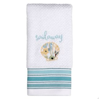 Saturday Knight, Ltd. Seaside Blossoms Fingertip Towel