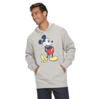 Men's Disney Mickey Mouse Pull-Over Hoodie