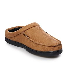 Men's Urban Pipeline® Microsuede Scuff Slippers