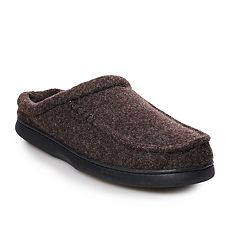 Men's Urban Pipeline® Felt Scuff Slippers