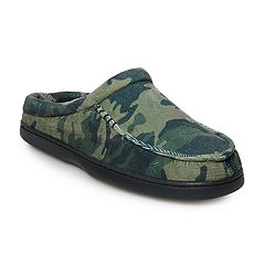 Men's Urban Pipeline® Corduroy Cuff Slippers