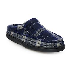 Men's Urban Pipeline® Flannel Scuff Slippers