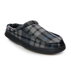 Men's Urban Pipeline® Plaid Cuff Slippers