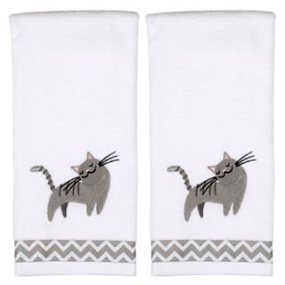 Saturday Knight, Ltd. Cat 2-pack Hand Towels