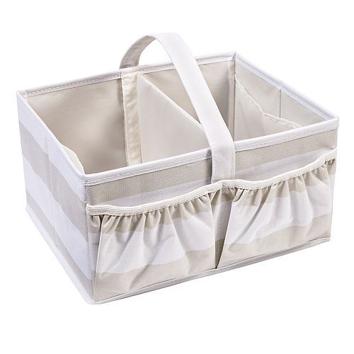 Honey-Can-Do Kids Collection Stripe Diaper Caddy