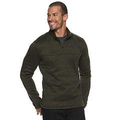 Men's Apt. 9® Modern-Fit Sweater Fleece Quarter-Zip Pullover