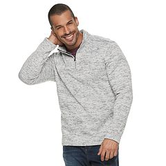Men's Apt. 9® Modern-Fit Sweater Fleece Quarter-Zip Pullover