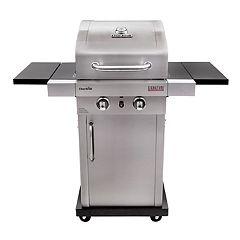 Char-Broil Signature TRU-Infrared 2-Burner Cabinet 18,000 BTU Gas Grill