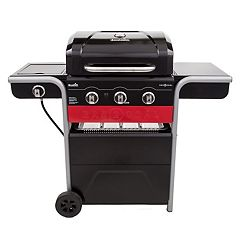 Char-Broil Gas2Coal Charcoal and 3-Burner 40,000 BTU Gas Grill