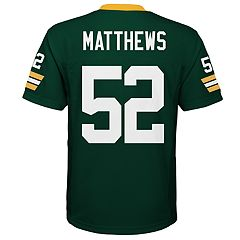 Boys 8-20 Green Bay Packers Reconstructed Jersey