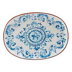 Certified International Porto Oval Serving Platter